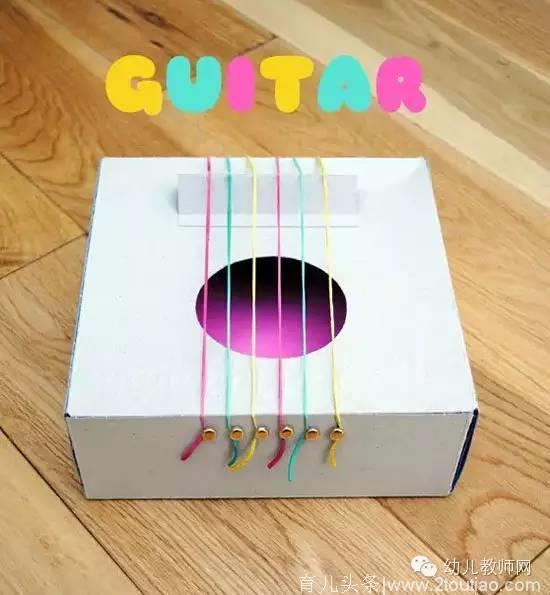幼儿园乐器diy手工制作及新鲜玩法