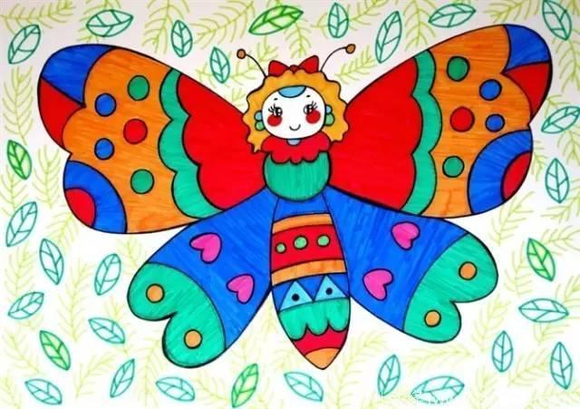 宝宝最爱的小猪佩奇填色画来啦 这些幼儿画画素材启发图片
