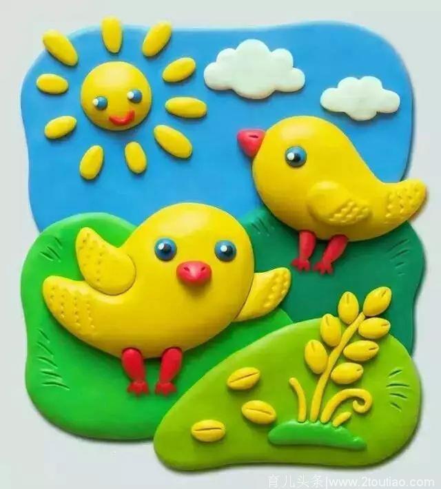幼儿园橡皮泥手工制作,含步骤!